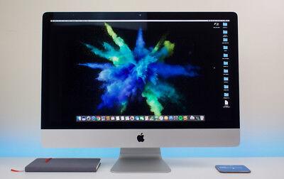#29 - Prized Apple Imac 27 3.4ghz Qc-i7 Ram-20gb Hybrid Ssd-3tb Gpu-1gb Warranty Glanzend Oppervlak