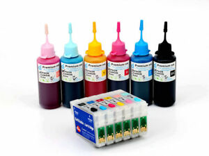 Refillable-ink-cartridge-Kits-for-Epson-Printer-RX585-RX685-PX650-PX660-NON-OEM