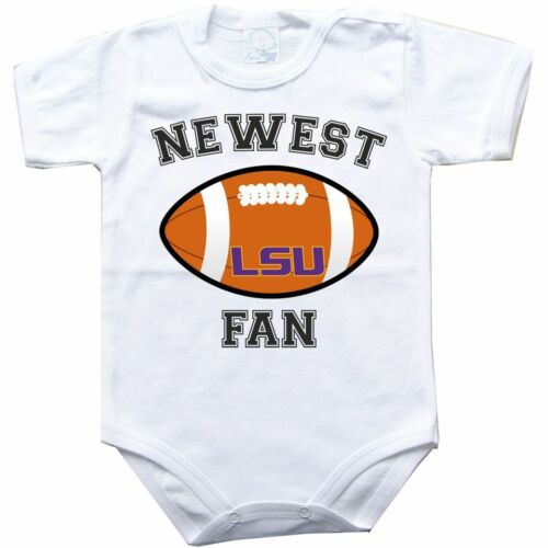 Baby bodysuit LSU Tigers Fighting Tigers Louisiana State football jersey