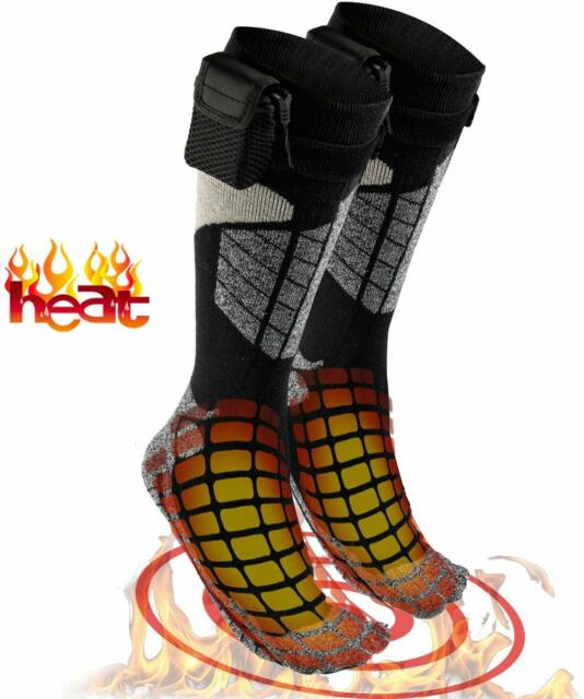 Men/&Women Winter Heated Socks Battery Powered Electric Winter Heat Foot Thermal