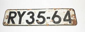 DDR-Kennzeichen-RY-35-64-Schild-Oldtimer-Nummernschild
