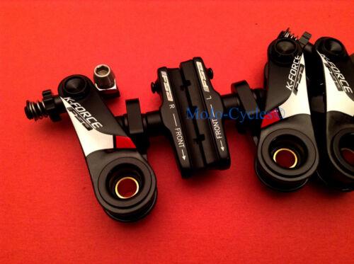 FSA K-Force Carbon Fiber Cantilvever Cyclocross Brake Set Front /& Rear