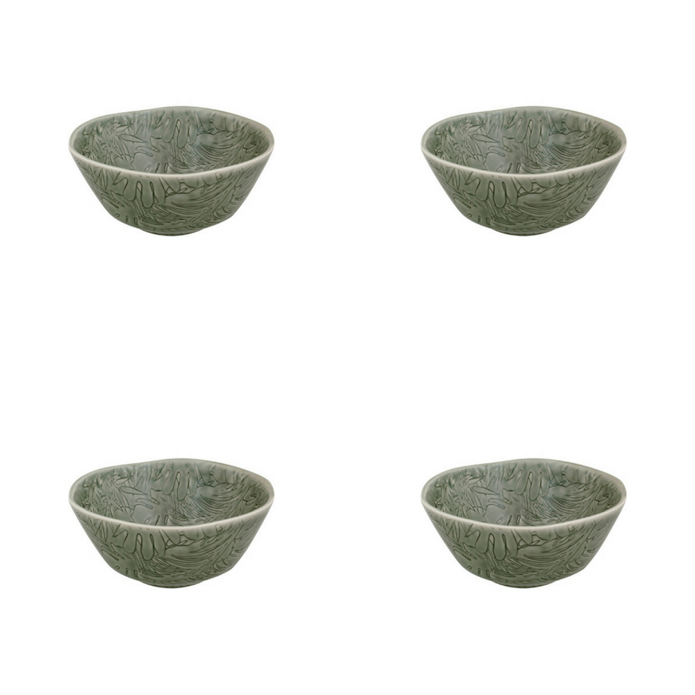 Bordallo Pinheiro Tropical Cereal Bowl-Lot de 4
