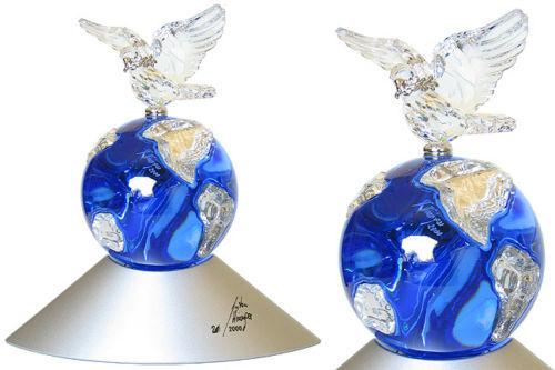 Swarovski Millennium Edition Crystal Planet MIB