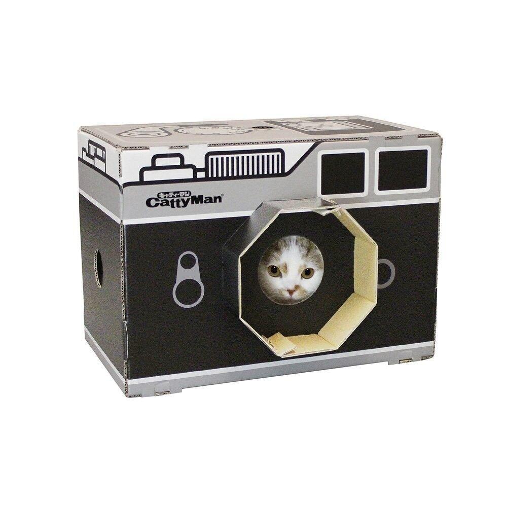 CattyMan Cardboard box for cat with scratcher cute KAWAII pet house bed JAPAN