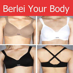 fc9095bb58 Image is loading BERLEI-HIGH-PERFORMANCE-UNDERWIRE-SUPPORT-SPORTS-BRA-BLACK-