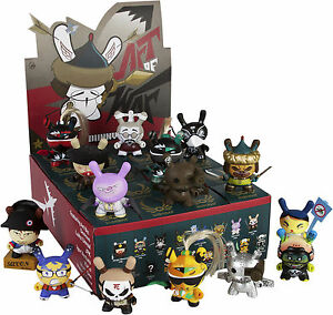 KIDROBOT-Dunny-3-034-039-The-Art-of-War-039-2014-Blind-Box-Vinyl-Figurines-Display-20ct