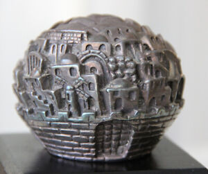 034-Jerusalem-Rose-034-Jerusalem-3000-by-Sam-Philipe-Silver-925-Decorative-Sculpture