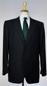 KITON-Mens-Bespoke-3-Roll-2-Button-Superfine-Wool-Slim-Suit-44-54-R-NEW-7500