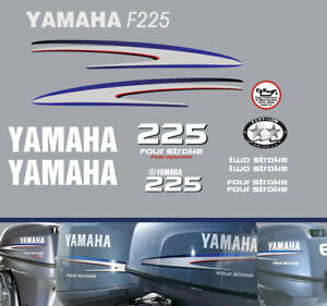 YAMAHA-F225-Four-Stroke-Fuel-Injected-decals