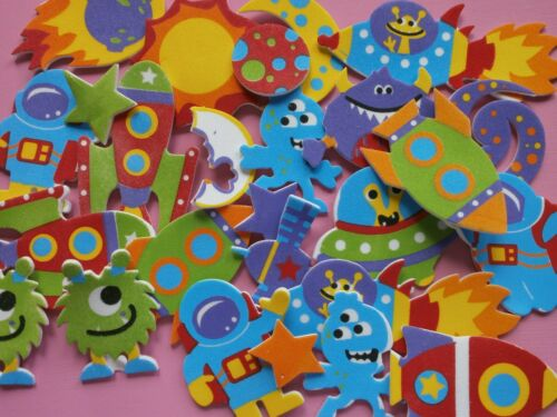 New Space** Moon** Foam Stickers *Craft Projects*School Projects* X 20