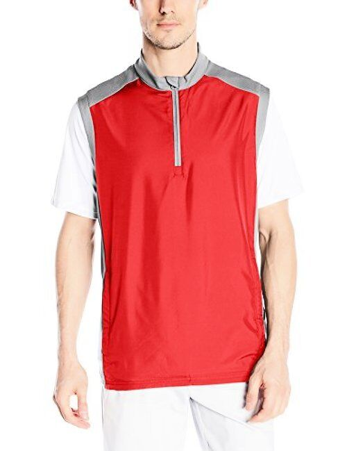 TAYJB adidas Golf Herren Club Windweste - Wählen Sie SZ / Farbe