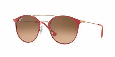 Ray Ban sunglasses RB3546 907271 52MM Red Bronze Pink Brown Gradient Round