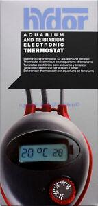 Hydor Aquarium Terrarium Thermostat électronique Pour les câbles chauffants Réchauffeur de Heistäbe