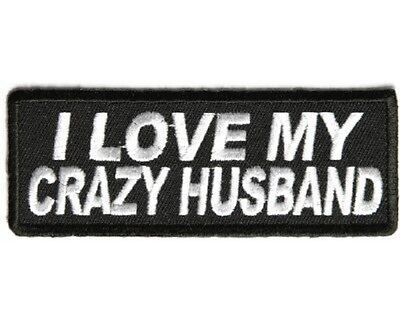 Property Of An Awesome Husband Iron On Sew On Embroidered Patch 4 x 1 12