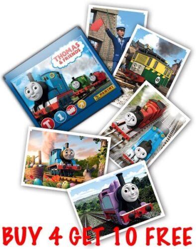 2017 Buy 4 Get 10 Free Panini Thomas The Tank Engine Single Stickers