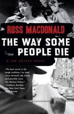 Lew Archer: The Way Some People Die by Ross Macdonald (2007, Paperback)