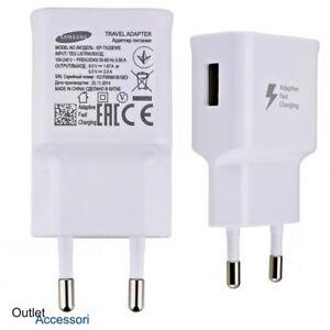 Caricabatteria-Caricatore-Originale-Samsung-Fast-Charger-Ricarica-Veloce-USB-S8