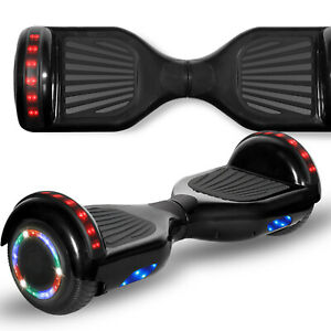 """Rechargeable 6.5"""" Kids Balancing Scooter w/LED and Wireless Speaker"""