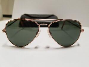 7d9b1956ef Image is loading RANDOLPH-CONCORDE-23K-ROSE-GOLD-Sunglasses-140mm-New-
