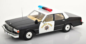 1-18-Model-car-group-chevrolet-caprice-Highway-Patrol-California-1987