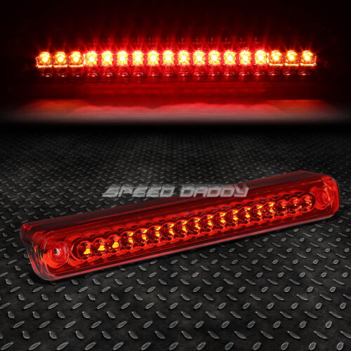 FOR 88-00 CHEVY C//K PICKUP LED THIRD 3RD TAIL BRAKE LIGHT STOP CARGO LAMP RED