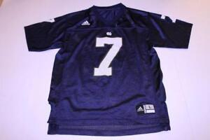 adidas Notre Dame Fighting Irish #5 Youth Blue Football Jersey