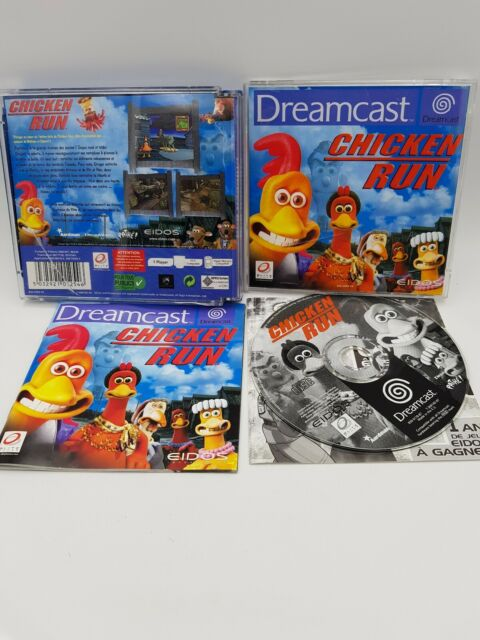 Chicken Run pour Dreamcast eidos Boitier Cassé