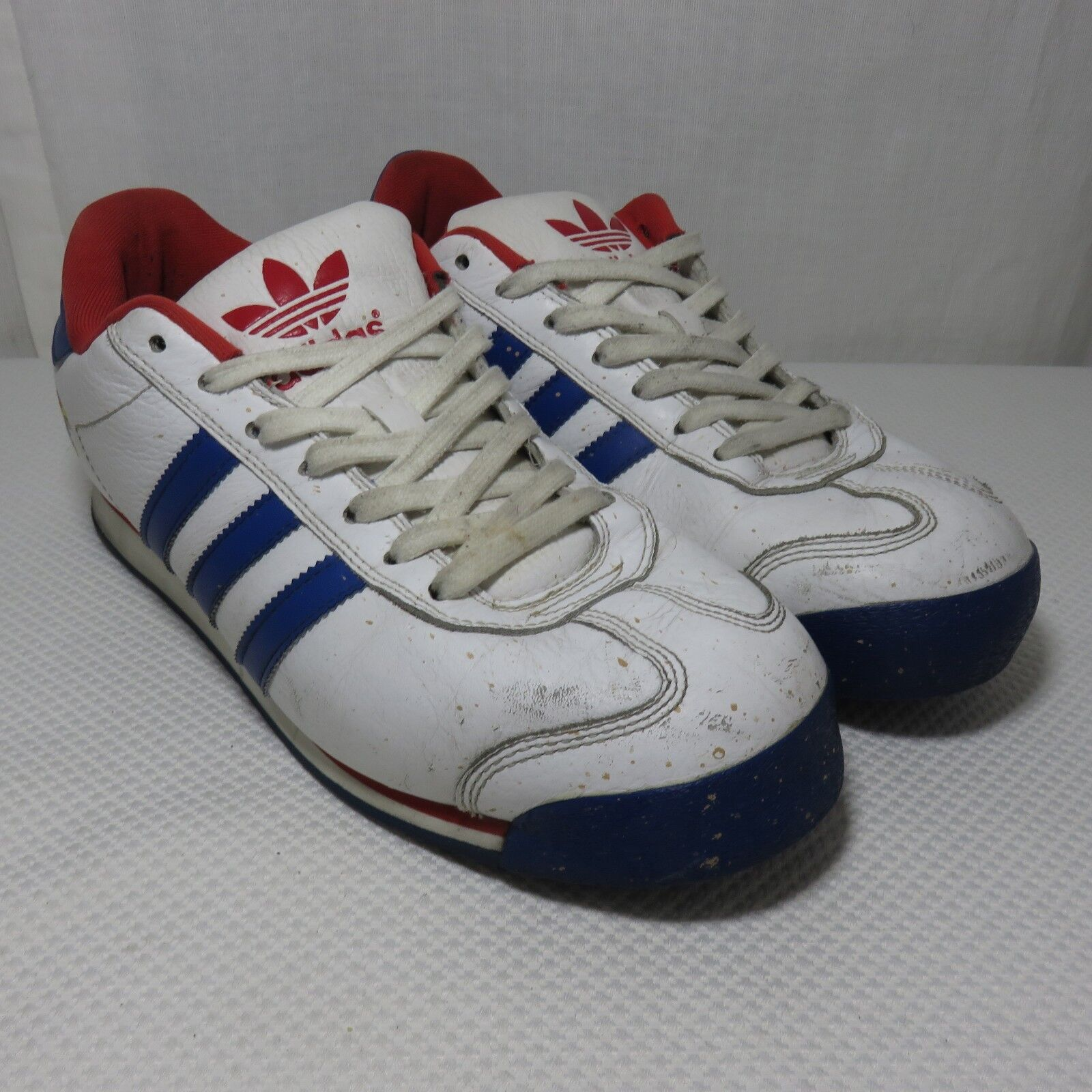 Adidas Originals 10.5 Trefoil Kansas University Jayhawks KU Sneakers bajos bajos