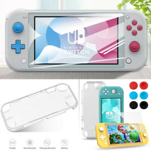 Switch Lite Accessories Bundle -Clear Case&Glass Screen for Nintendo Switch Lite