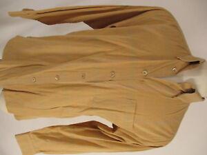 Ermenegildo-Zegna-Mens-Orange-Plaid-Long-Sleeve-Cotton-Shirt-L-Italy-Made