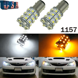 1157-Switchback-60-SMD-LED-Bulbs-Parking-Turn-Signal-Lights-For-Subaru-Impreza