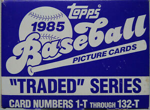 1985-Topps-Traded-Team-Set-Baseball-Cards-You-U-Pick-From-List
