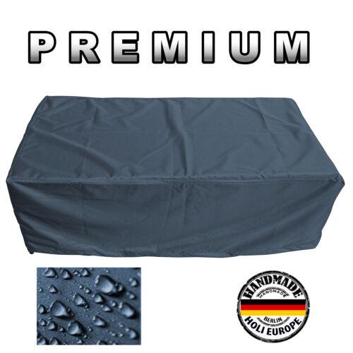 Premium Table de jardin Housse de protection bâche de B 185 cm x T 105 cm x H 71 cm Anthracite
