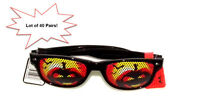 Lot Of 40 Pairs Of Novelty Holiday Halloween Sunglasses Great For Kids Parties