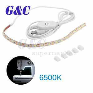 Sewing-Machine-Light-Bright-Strip-LED-Light-With-Touch-Dimmer-USB-Power-Supply