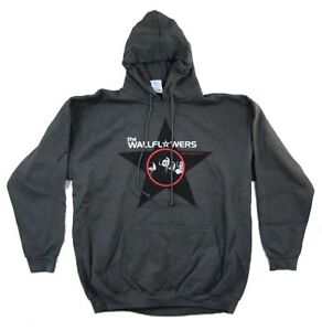 Wallflowers-Red-Letter-Days-Grey-Pull-Over-Sweatshirt-Hoodie-New-Official-Band
