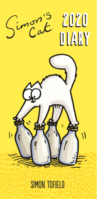 2020 Slim Week to View Diary Cat Dog Humurous Hard Cover
