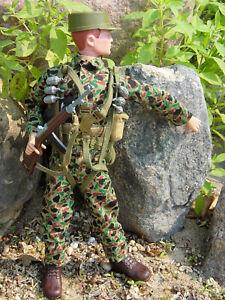Gi Joe Vintage Marine Paratrooper, VG - Excellent TM Set