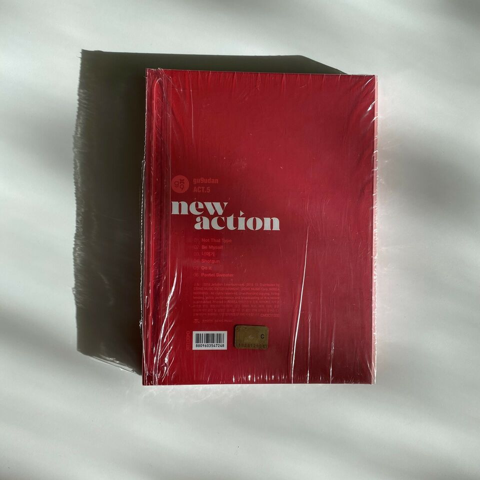 Gugudan : Act.5 New Action (3rd Mini Album), pop