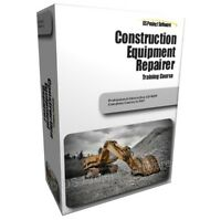 CONSTRUCTION EQUIPMENT REPAIR HYDRAULICS TRAINING STUDY COURSE MANUAL ON CD