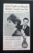 F444 - Advertising Pubblicità - 1960 - PALMOLIVE SHAMPOO LIQUIDO
