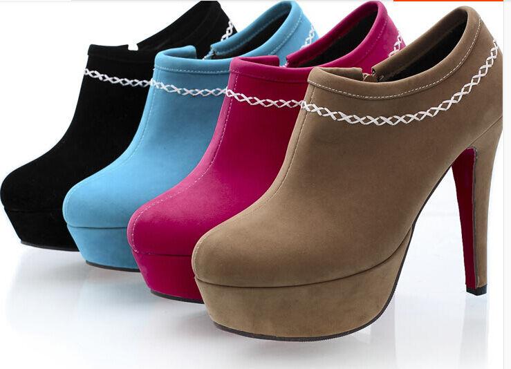 Stiefeletten stiefel frau stöckelabsatz 12 komfortabel cm heiß komfortabel 12 simil leder 8991 a6de1b