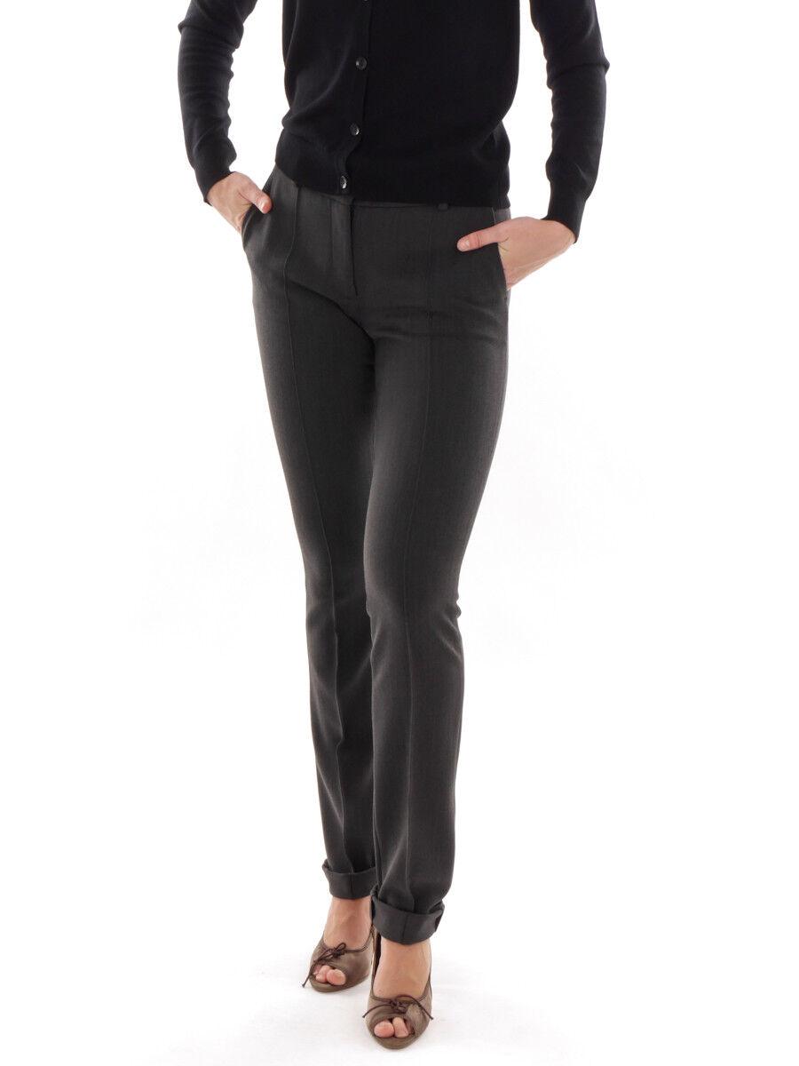 Richard Kravetz Hose Hose Hose Bundfaltenhose Anzughose grau Taschen Regular | Moderne Muster  | Hochwertige Materialien  | Elegante Form  bc4990