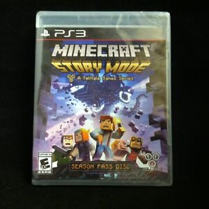 Details about Minecraft: Story Mode -- Season Pass Disc (Sony PlayStation  3, 2015)