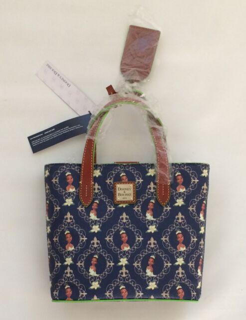 Bnwt Disney Parks Dooney And Bourke Princess Frog Tiana Crossbody Bag Purse