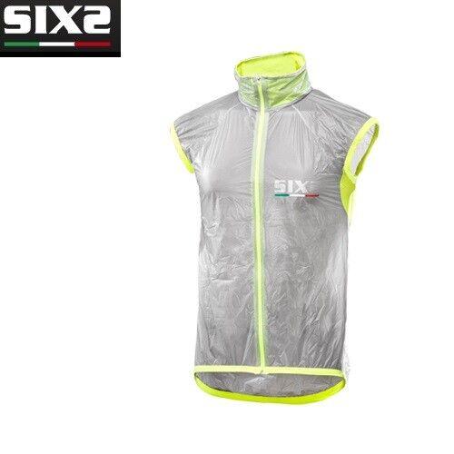 Weste windundurchlässig Fahrrad Radsport Fahrrad SIXS 100% Italien TRASPATENT