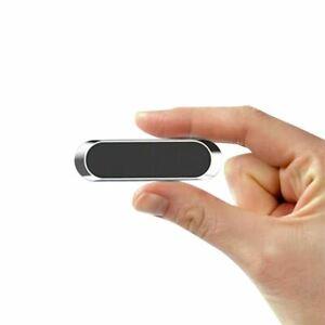 Car Phone Holder - Washable Strong Magnetic Mini Strip (Black)