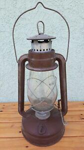Vintage-Antique-Kerosene-Lantern-Oil-Lamp