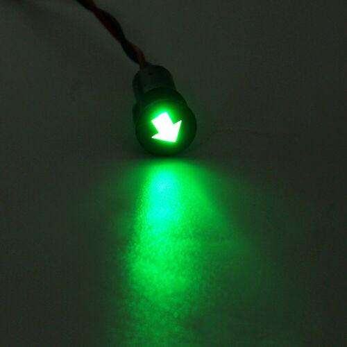 12mm LED Indicator Warning Light Lamp Pilot Panel Dash Car Boat Truck Motorcycle
